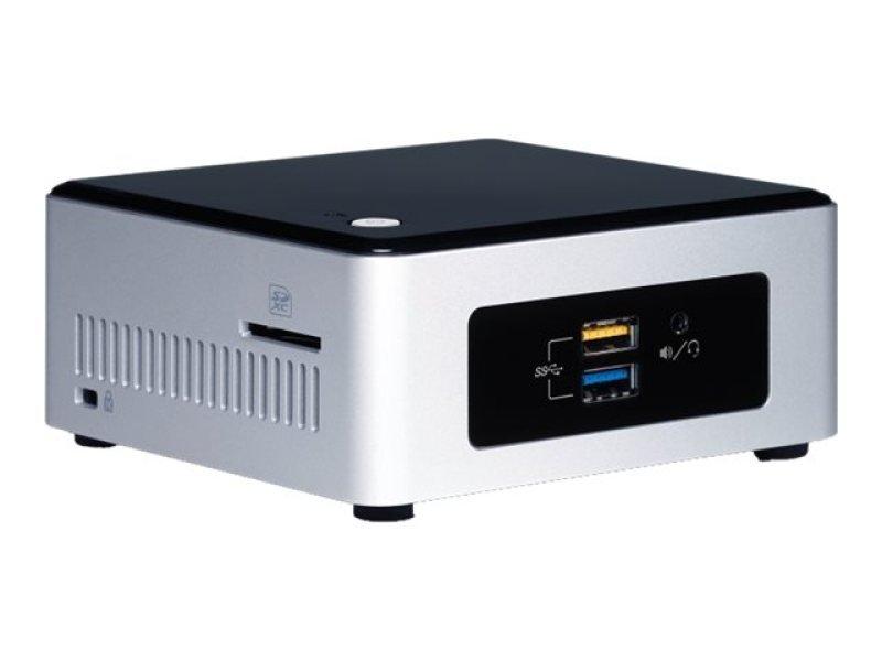 Intel NUC 5PGYH Nettop PC Intel Pentium N3700 1.6 GHz 2GB RAM 32GB SSD NoDVD Intel HD WIFI Bluetooth Windows 10 Home