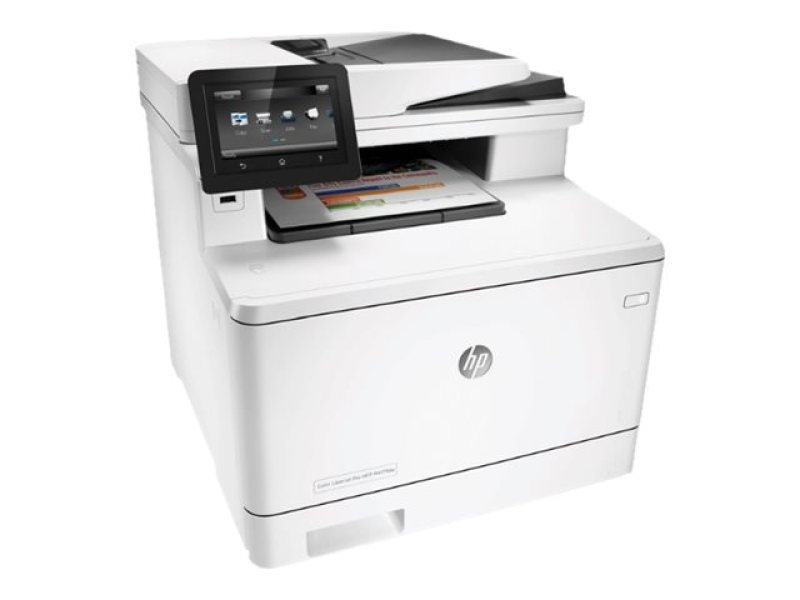 Hp M477fdn Laserjet Pro Multifunction Colour Laser...
