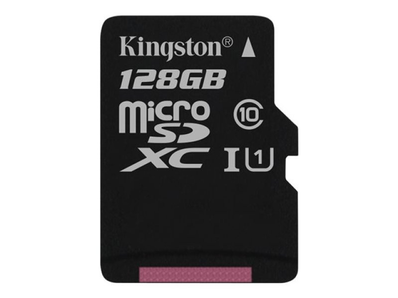Kingston Technology 128GB microSDXC UHS-I Memory Card