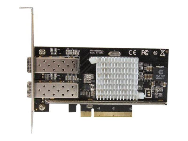 StarTech com 2 Port 10Gb SFP+ Network Card - Intel Chip - 10G SFP+ NIC