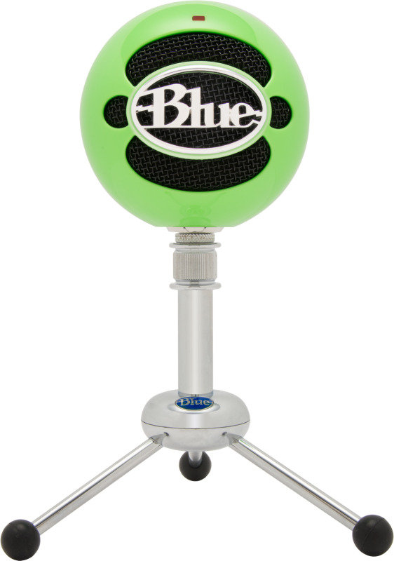 Image of Blue Microphones Snowball USB Microphone Neon Green