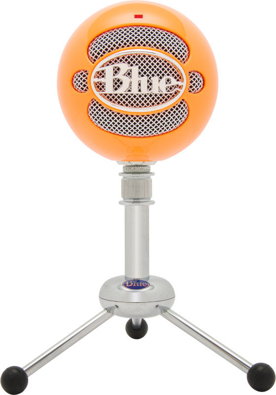 Blue Microphones Snowball USB Microphone Neon Orange