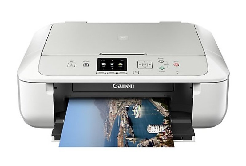Canon PIXMA MG5750 MultiFunction Inkjet Printer  White Version