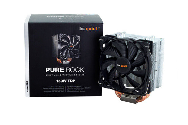 Be quiet! BK009 Pure Rock Compact CPU Air Cooler