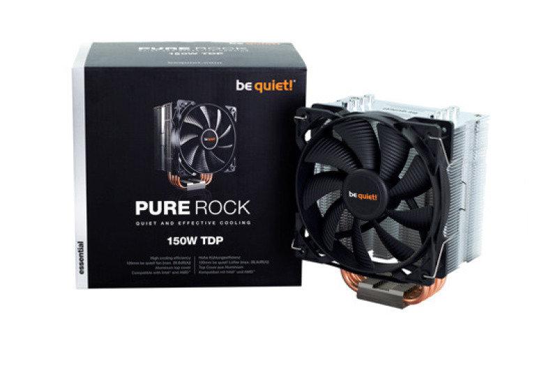 Image of BeQuiet Pure Rock Quiet and effective Cooler