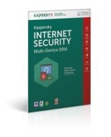 Kaspersky Internet Security 2016, Multi Device, 3 Device, 1 User - FFP Packaging