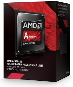 EXDISPLAY AMD A6-7400K 3.5GHz Socket FM2+ 1MB L2 Cache Retail Boxed Processor