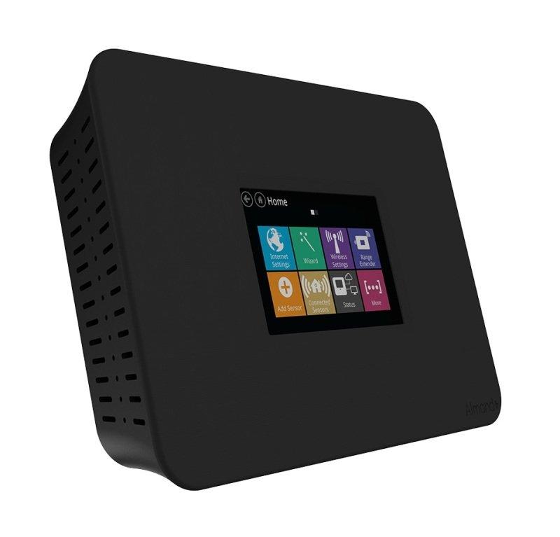 Securifi Almond Long Range Touchscreen Wireless AC Gigabit Router ALMPBLKUS  Works with Alexa
