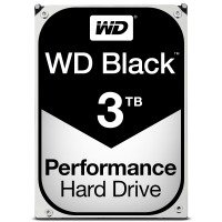 "WD Black 3TB 3.5"" SATA Desktop Hard Drive"
