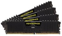 Corsair Vengeance LPX 64GB (4x16GB) DDR4 DRAM 2666MHz C16 Memory Kit - Black
