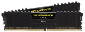 Corsair Vengeance LPX 32GB (2x16GB) DDR4 DRAM 3200MHz C16 Memory Kit - Black