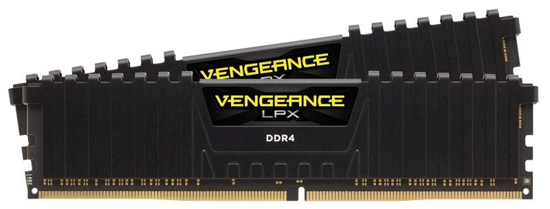 Corsair Vengeance LPX 32GB (2x16GB) DDR4 DRAM 3200MHz C16 Memory Kit - Black