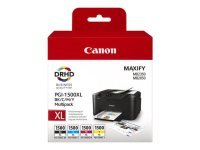 Canon PGI-1500XL High Yield BK/C/M/Y Ink Cartridge Multipack