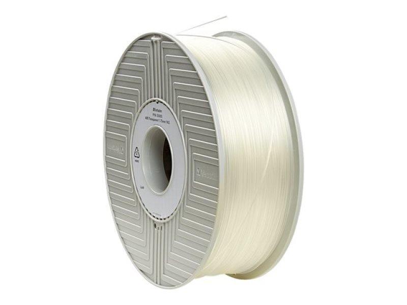 Verbatim 2.85mm 1kg PLA 3D Printer Filament Spool - Natural Transparent