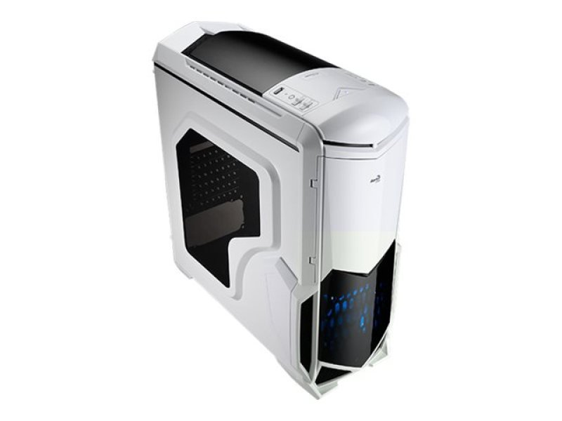 Areocool Battle Hawk White USB 3 120mm Fan With Blue Led Midi Tower Case