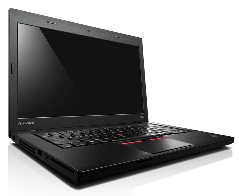 "Image of Lenovo ThinkPad L450 Laptop, Intel Core i5-5300U vPro, 4GB RAM, 192GB SSD, 14"" FHD, No-DVD, Intel HD, WIFI, Bluetooth, Windows 7 + 8.1 Pro 64bit"