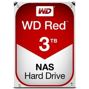 "WD Red 3TB 3.5"" SATA NAS Hard Drive"
