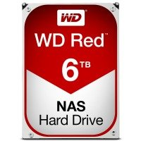 "WD Red 6TB 3.5"" SATA NAS Hard Drive"