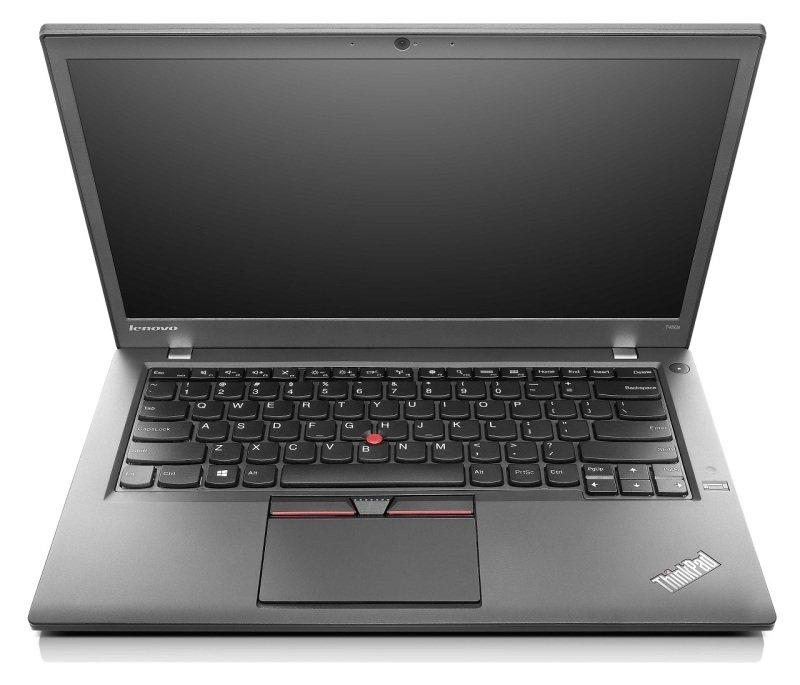 Lenovo ThinkPad T450 Laptop Intel Core i35010U 2.1GHz 4GB RAM 500GB SSHD (8GB) 14&quot HD NoDVD Intel HD WIFI Webcam Bluetooth Windows 7  8.1 Pro Flyer 64bit