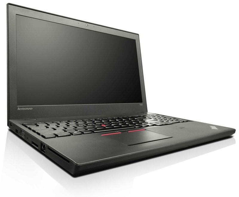 Lenovo ThinkPad T550 Laptop Intel Core i55300U vPro 2.3GHz 8GB RAM 256GB SSD 15.6&quot Full HD NoDVD Intel HD WIFI Webcam Bluetooth Windows 7  8.1 Pro Flyer 64bit