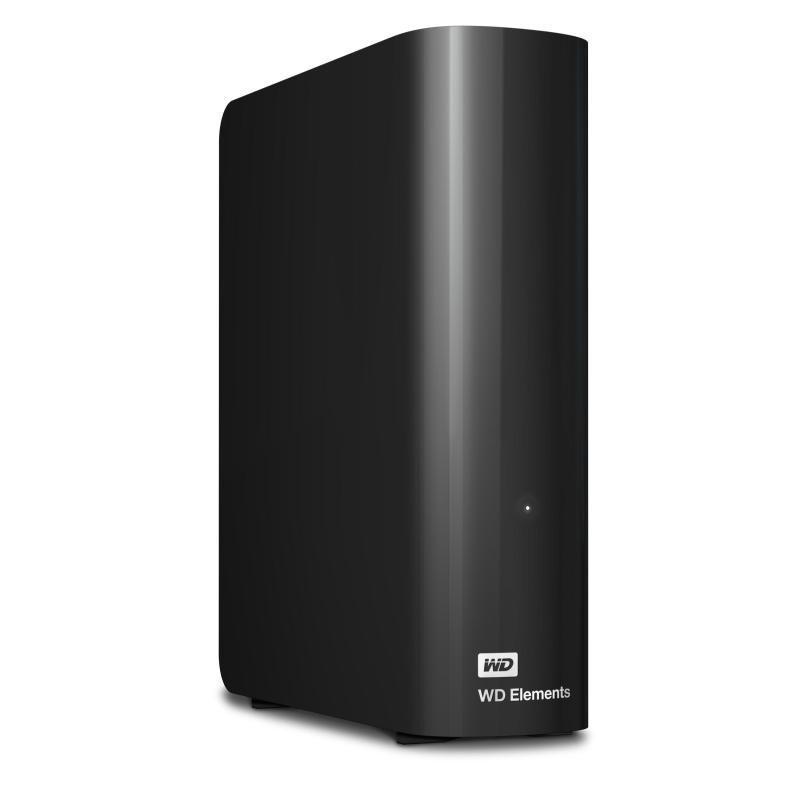 WD Elements Desktop 2TB 3.5inch External HDD Black