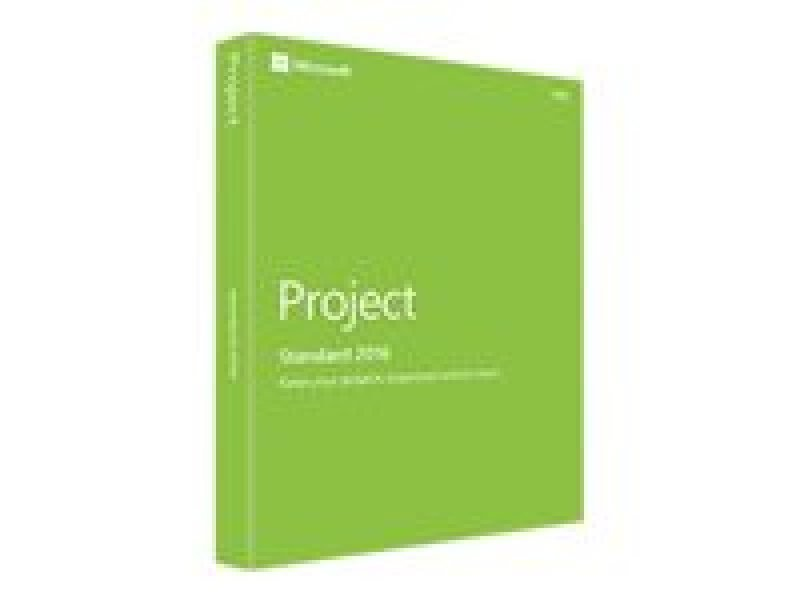 Microsoft Project 2016 32/64 Bit- Medialess