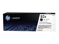 HP 83X Black High Yield LaserJet Toner Cartridge - CF283X