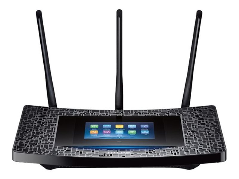 TP-LINK Touch P5 AC1900 Touchscreen Wi-Fi Dual Band Gigabit Cable Router