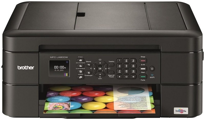 Brother MFC-J480DW Multifunction Inkjet Printer