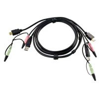 Aten USB and HDMI KVM Cable - CS1792  CS1794 1.8m