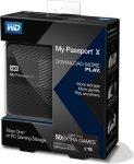 WD My Passport X Xbox 2TB Portable USB3.0 External Hard Drive Black