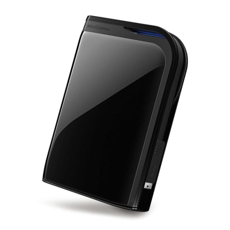 "Image of Buffalo 2TB MiniStation Extreme USB 3.0 2.5"" Portable Hard Drive Black"