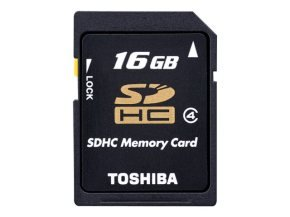 Toshiba High Speed N102 16GB SDHC Memory Card