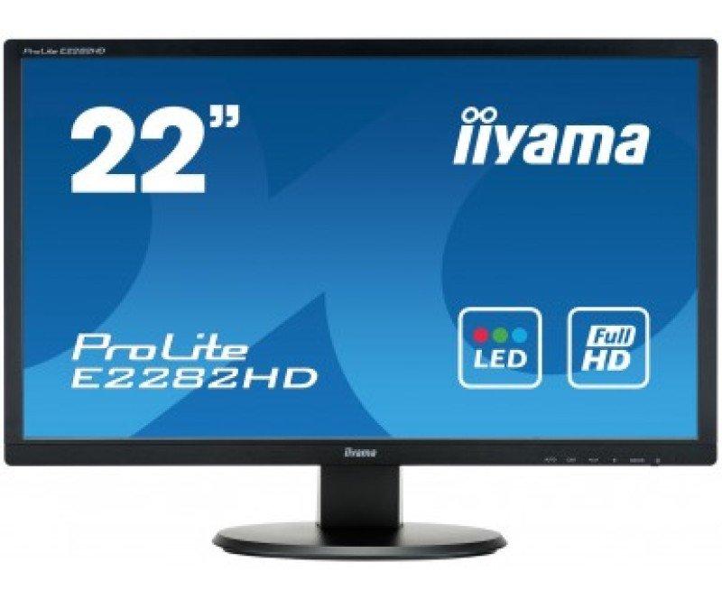 Iiyama E2282HDB1 21.5&quot VGA DVI Monitor