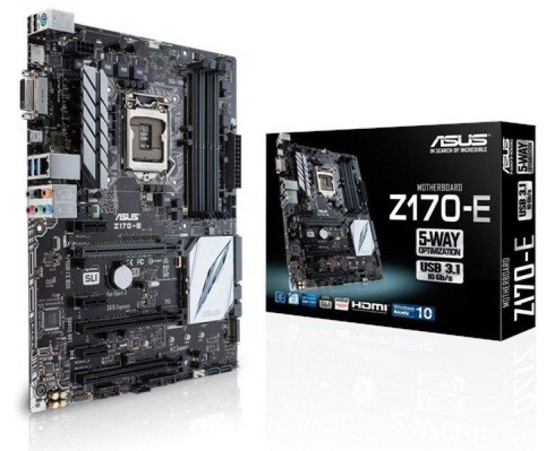 Asus Intel Z170-E Socket 1151 ATX Motherboard