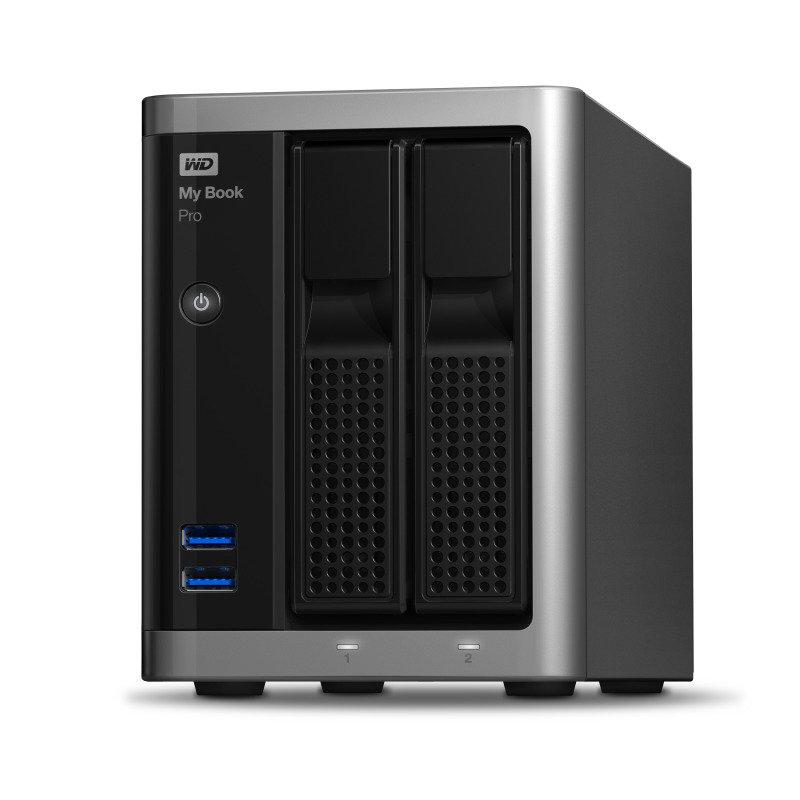 WD My Book Pro 8TB RAID Storage USB 3.0 Desktop External Hard Drive