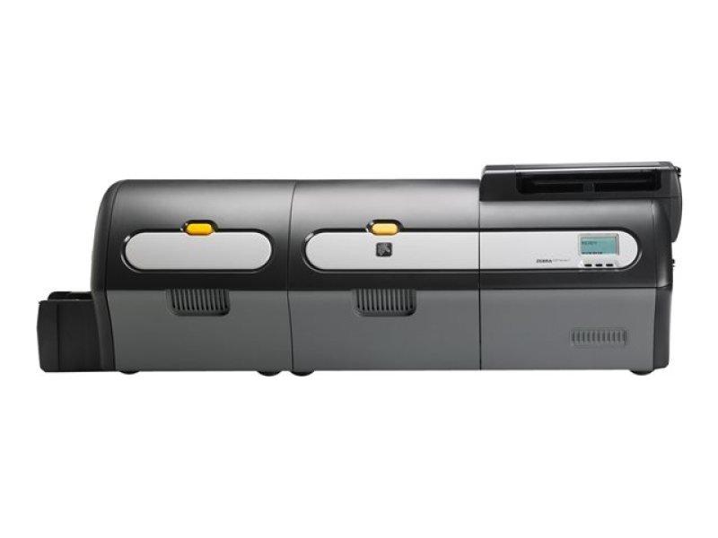 Zxp Series 7 Ds Lamination - Uk/eu Cords Usb 10/100 Eth In
