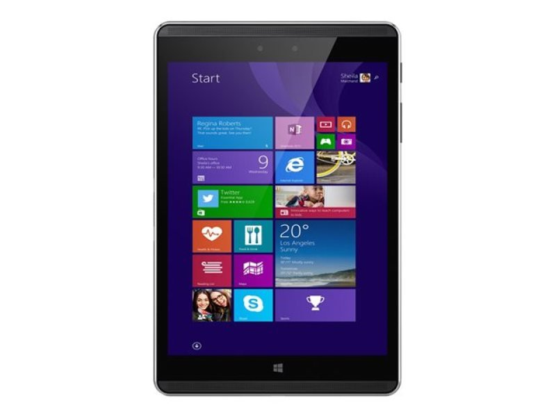 "Image of Hp Pro Tablet 608 G1 - Tablet grey - Intel Atom x5 Z8500 / 1.44 GHz - 4GB RAM and 128GB Storage - 7.86""LCD WLED Display / 2048 x 1536 (QXGA) - Bluetooth 4.0 and LTE - Windows 10"