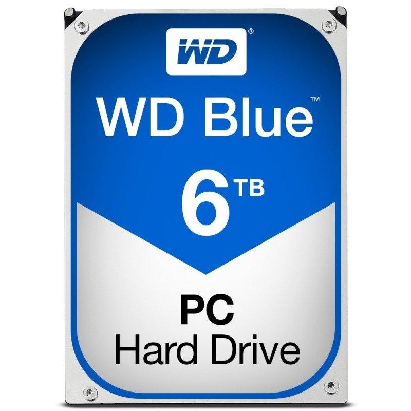"""WD Blue 6TB 3.5"""" SATA Desktop Hard Drive"""