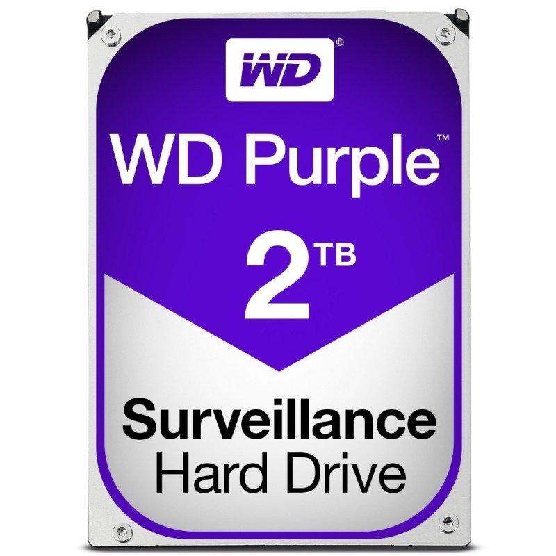 "WD PURPLE 2TB 3.5"" SATA Surveillance Hard Drive"