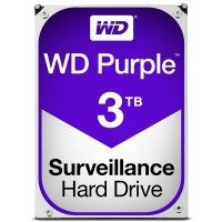 "WD Purple 3TB 3.5"" SATA Surveillance Hard Drive"