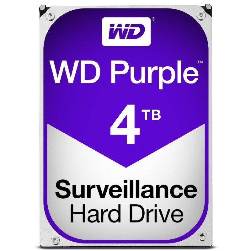 "WD PURPLE 4TB 3.5"" SATA Surveillance Hard Drive"