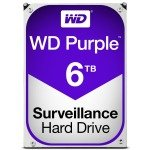 "WD Purple 6TB 3.5"" SATA Surveillance Hard Drive"