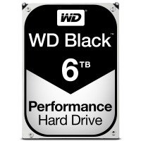 "WD Black 6TB 3.5"" SATA Desktop Hard Drive"