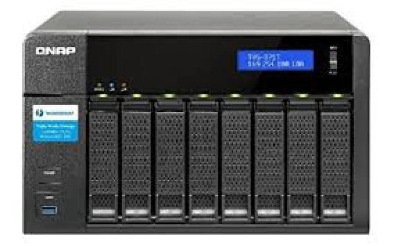 QNAP TVS-871T-I7-16G 8 Bay Desktop NAS Enclosure with 16GB RAM