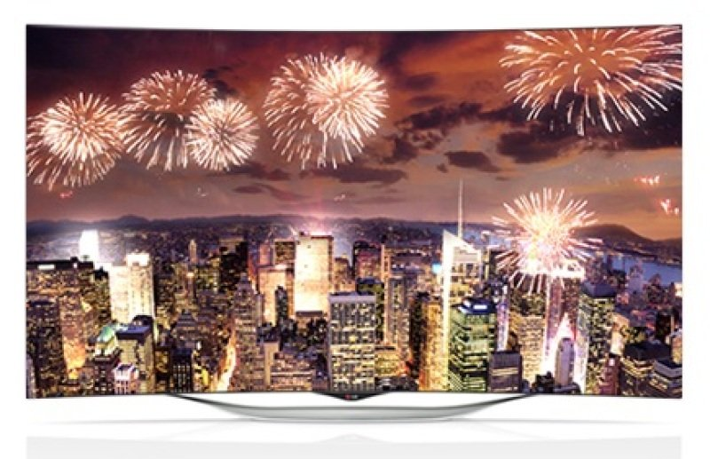 Image of Lg 55 Inch Oled Curved Webos Full Hd Tv (incl Magic Remote) Wifi 2.0ch 20w