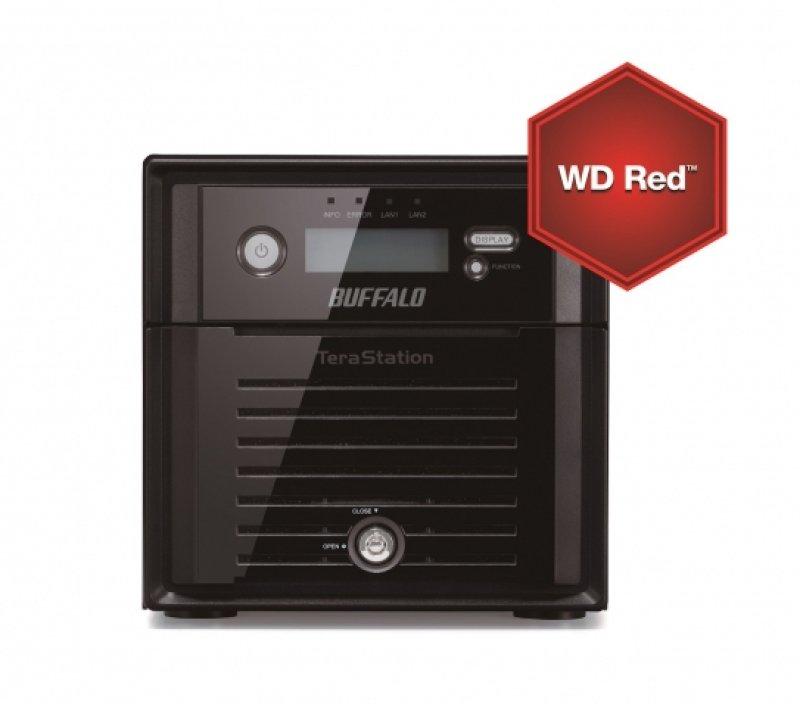 Buffalo TeraStation 5200 4TB (2 x 2TB) WD Red HDD 2 Bay NAS