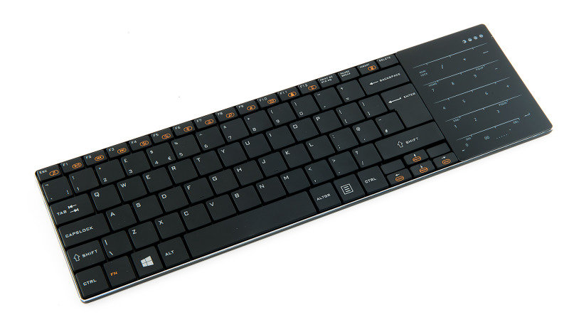 Image of Xenta Wireless Keyboard with Touchpad Function