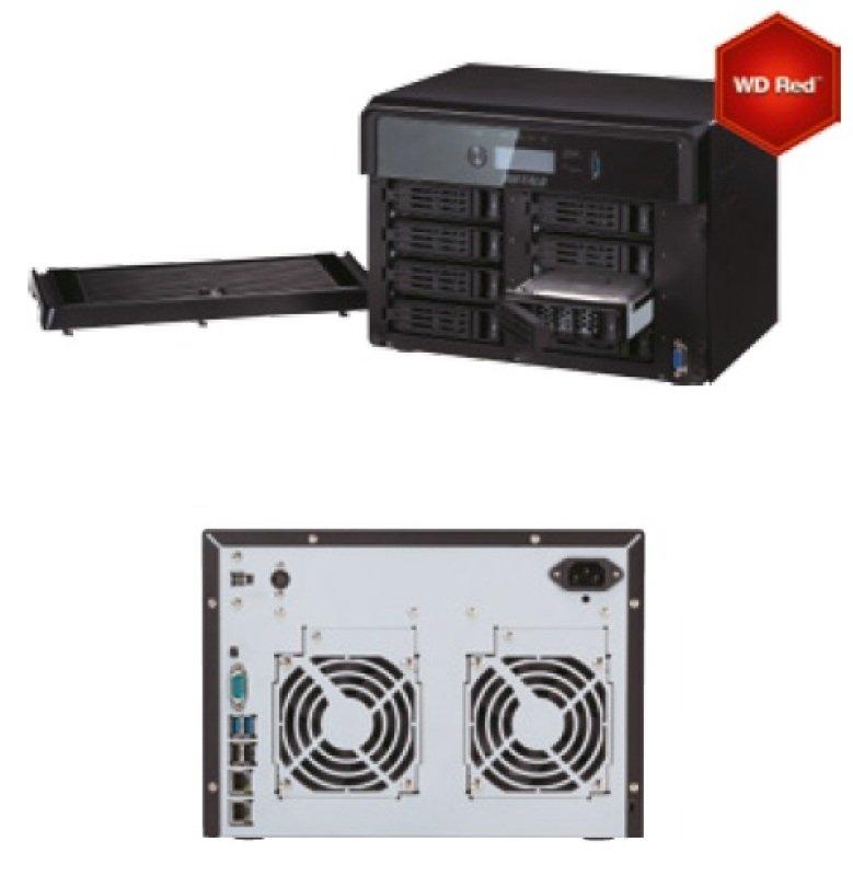 Buffalo TeraStation 5800 16TB (8 x 2TB) WD Red HDD 8 Bay NAS