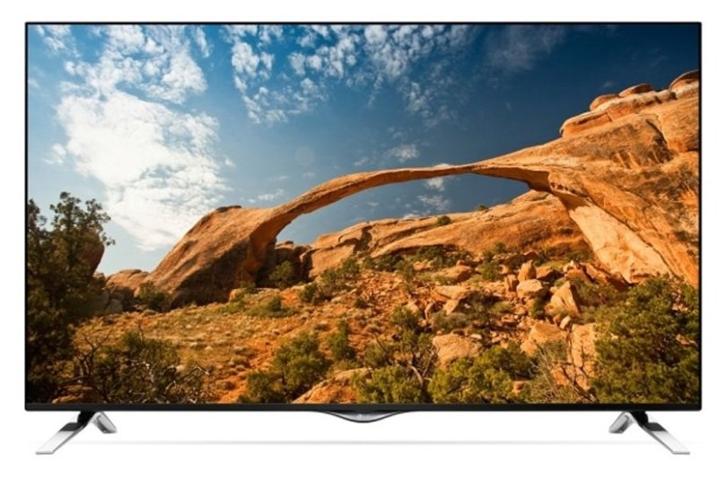 "Image of 55"" Ultra Hd Smart Led Tv 3840 X 2160 Resolution Black 3 X Hdmi 2 X"